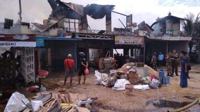 Warga Lihat Asal Api dari Atas Ruko, Total 12 Ruko Terbakar