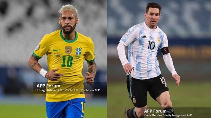 Skema 8 Besar Jadwal Copa America 2021 Live Indosiar dan Argentina Vs Brasil di Final Conmebol 2021