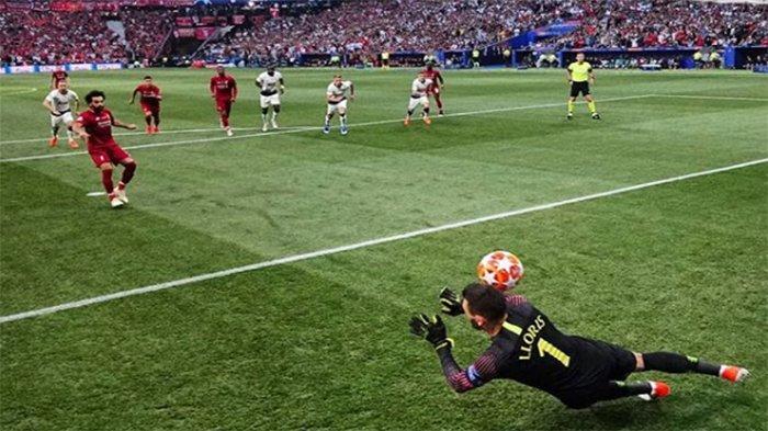 SKOR LANGSUNG Tottenham Vs Liverpool Live RCTI & LIVE SCORE   2 Menit Mo Salah Bawa Liverpool Unggul