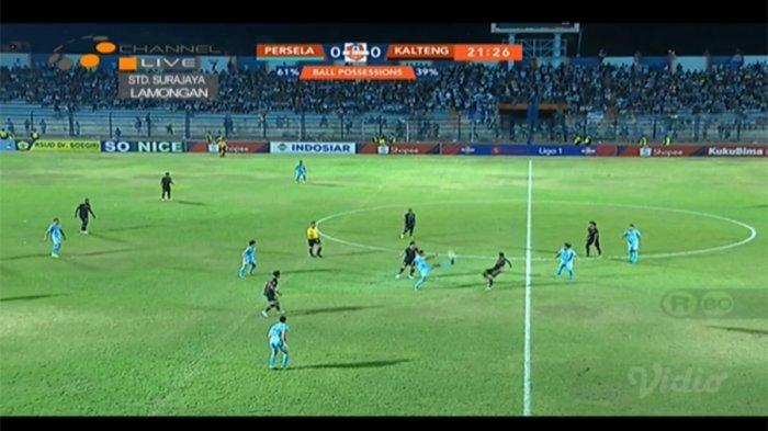 SKOR Persela Vs Kalteng Putra - Live Streaming Ochannel, Cek Hasil Liga 1 2019 via Live Score