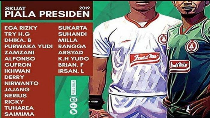 SKOR PSS Sleman Vs Borneo FC, Live Streaming INDOSIAR Fase Grup D Piala Presiden Mulai Jam 18.30 WIB