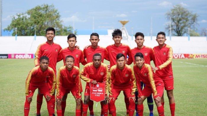 PREDIKSI Skor Indonesia Vs Timor Leste, Adu Gengsi Tahta Klasemen Piala AFF U-15, Cek Streaming SCTV