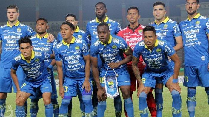 HASIL AKHIR Persib Vs Persikabo - Laga Uji Coba Jelang Liga 1 Maung Bandung Berakhir Tanpa Gol