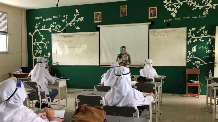 264 Siswa SMAN 1 Pontianak Dapat Izin Orangtua Ikuti Pembelajaran Tatap Muka