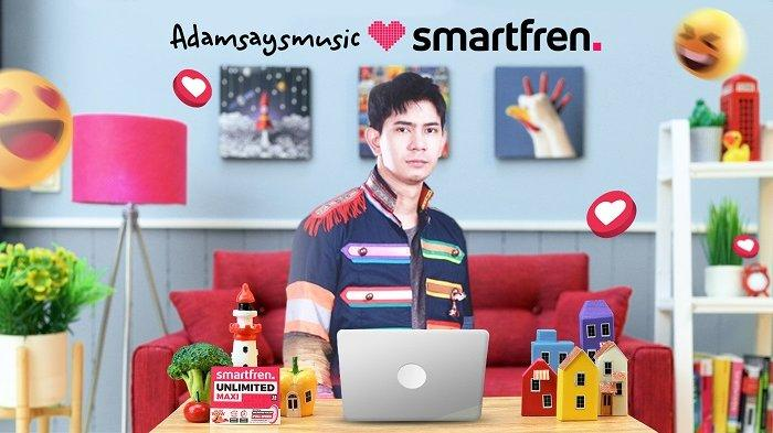 Smartfren dan Adamsaysmusic Ajak Generasi Muda Terus Berkarya dari Rumah