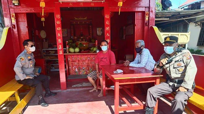 Kapolsek Pontianak Timur Berikan Himbauan Menjelang Satu Hari Tahun Baru Imlek 2572