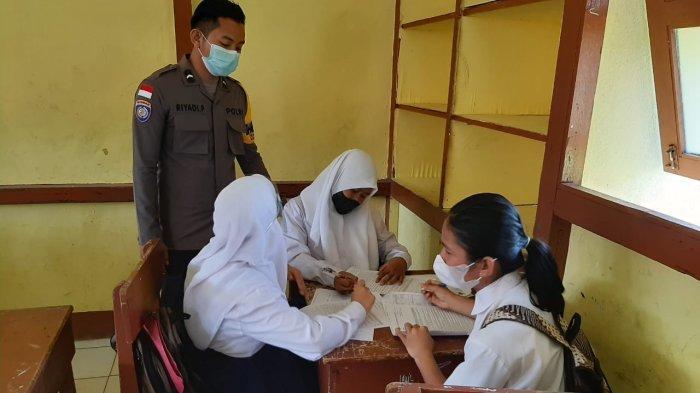 Beberapa Kegiatan Polsek Batang Lupar, Mulai Penyuluhan, Pengamanan Vaksinasi & Patroli Bencana Alam