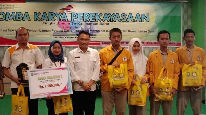 SMK-SMTI Pontianak Juara Lomba Karya Perekayasaan Se-Kalbar
