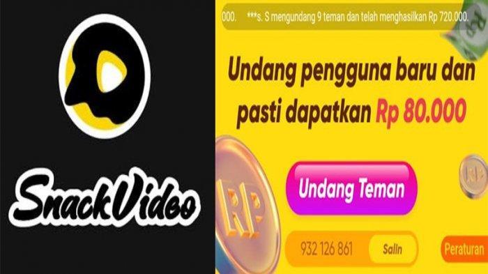 UPDATE Snack Video Menaikkan Hadiah Uang Menjadi Rp 80 Ribu, Ini Cara Dapat Uang dari Snack Video