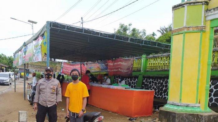 Personel Polsek Sanggau Ledo Rutin Sosialisasi untuk Cegah Covid-19