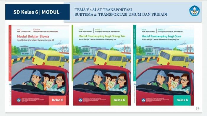 Soal dan Jawaban TVRI Senin 11 Januari 2021 SD Kelas 6, Tugas Belajar Episode 6:Transportasi Daring