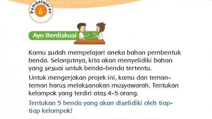 Soal Dan Kunci Jawaban Tema 3 Kelas 3 Sd Mi Halaman 55 Bantulah Siti Menemukan Ukurannya Tribun Pontianak