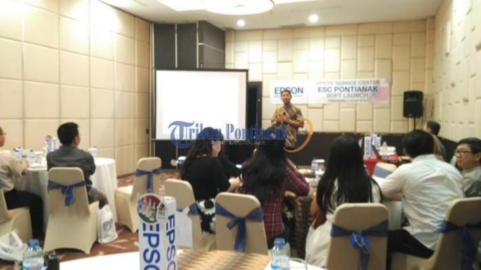 Epson Indonesia Gelar Soft Launching Epson Service Center Di Pontianak Tribun Pontianak