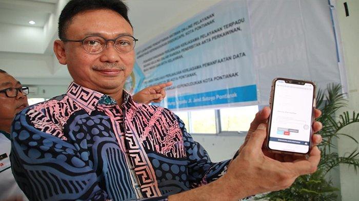 Disdukcapil Kota Pontianak Luncurkan Layanan Pengambilan Antrean Online