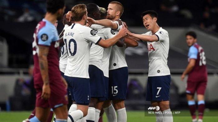 HASIL Pertandingan Liga Inggris Tadi Malam Tottenham Vs Man. City, Mou Puncaki Klsemen Liga Inggris