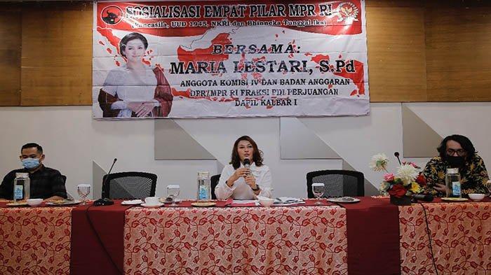 Gelar Sosialisasi 4 Pilar Kebangsaan, Maria Lestari: Indonesia adalah Rumah Besar