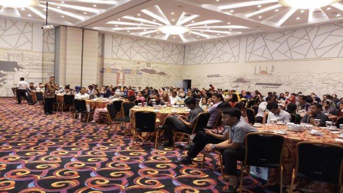 Ratusan Badan Usaha Hadiri Sosialisasi Pendaftaran Program JKN-KIS Melalui Online Single Submission