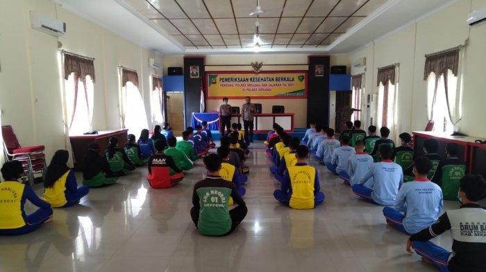 Polres Sekadau Gelar Kampanye Proaktif Seleksi RIM Polri Tahun Anggaran 2021
