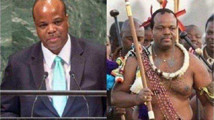 Sosok Raja Mswati III yang Hadiri Pelantikan Presiden! Skandal dan Satu dari 15 Istrinya Bunuh Diri
