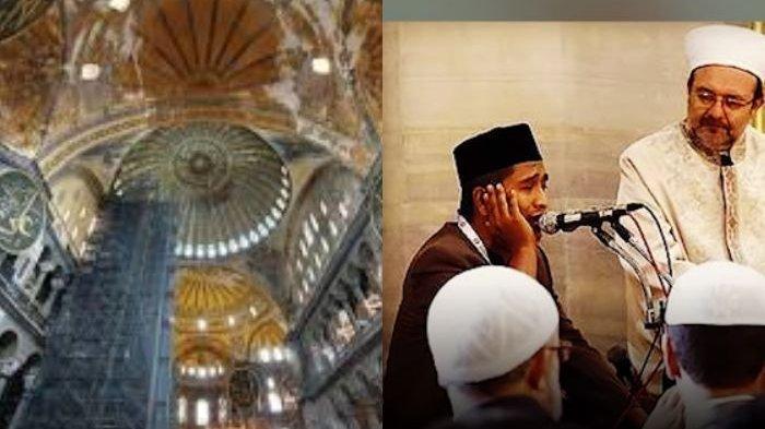 SOSOK Ustadz Takdir Feriza Hasan dari Aceh yang Pernah Lantunkan Ayat Suci Alquran di Hagia Sophia