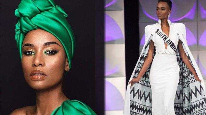 SOSOK Zozibini Tunzi, Jawaban Cerdas Ini yang Mengantarkannya Meraih Mahkota Miss Universe 2019