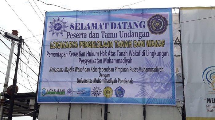 Majelis Wakaf dan Kehartabendaan Muhammadiyah Kalbar akan Gelar Lokakarya Perwakafan