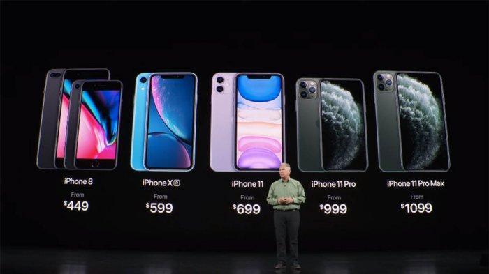 Spesifikasi Iphone 11 Handphone Harga Rp 9 8 Juta Tahan Air Debu Ada Enam Pilihan Warna Tribun Pontianak