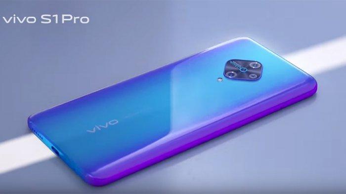 SPESIFIKASI Vivo S1 Pro dengan Kamera Belah Ketupat, Super Fast Charging dan Cocok untuk PUBG Mobile