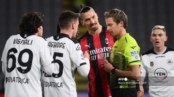 UPDATE Klasemen Liga Italia Usai AC Milan Ditumbangkan Spezia Tadi Malam