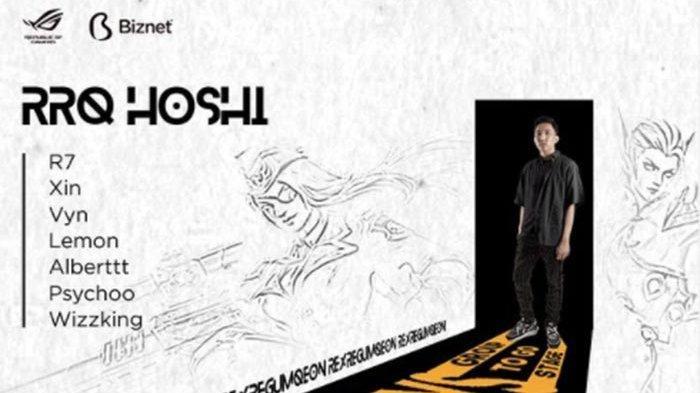 SQUAD RRQ Hoshi di Jadwal M2 Piala Dunia Mobile Legends ...