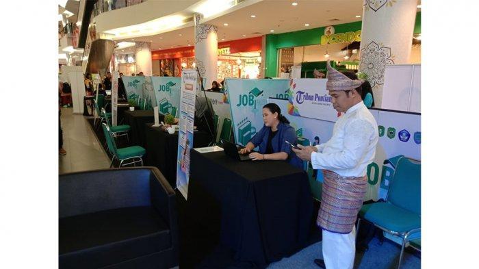 Info Lowongan Kerja, Ayo Kunjungi Stan Tribun Pontianak di Job Matching Singkawang Grand Mall