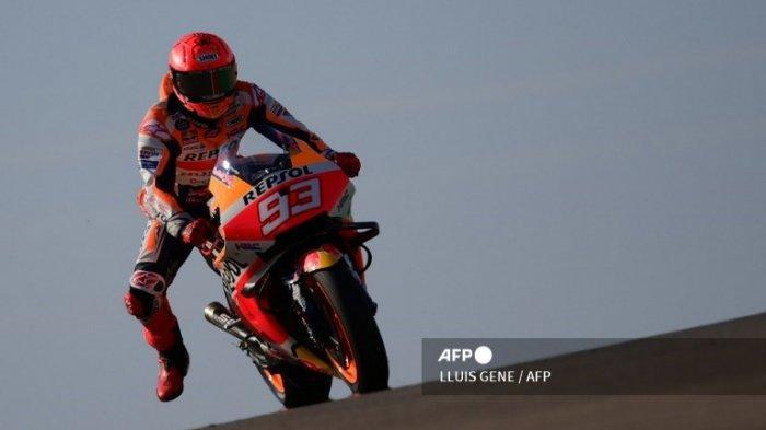 START MotoGP Besok Lengkap Francesco Bagnaia Pole Position MotoGP Aragon 2021, Marc Marquez Berapa?