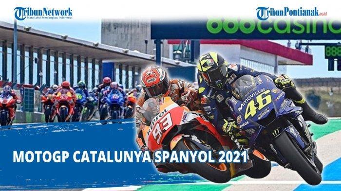 Urutan Start MotoGP Catalunya 2021, Pole Position & Posisi Valentino Rossi - Marc Marquez Malam Ini
