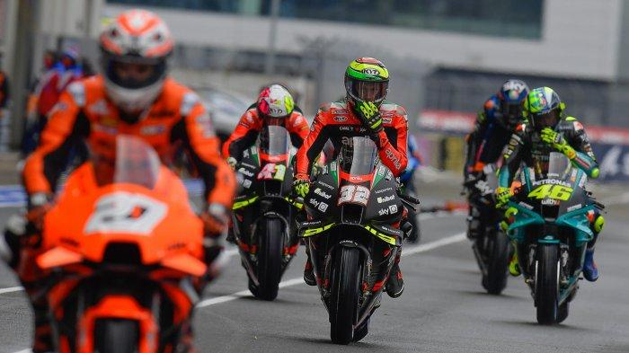 STARTING GRID MotoGP Prancis 2021 Malam Ini Jam Tayang Live Race Trans7.com Vidio.com dan UseeTV