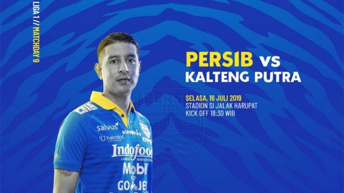 Starting XI Persib Bandung Vs Kalteng Putra Liga 1 2019, H2H & Live Streaming Indosiar Jam 18.30 WIB