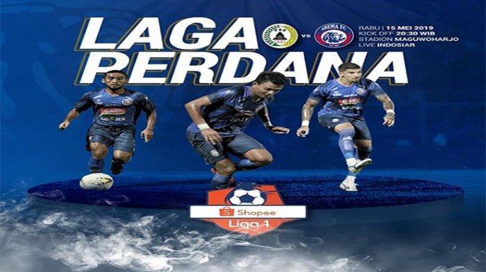 Starting XI PSS Sleman VS Arema FC Shopee Liga 1 2019 Live Streaming Indosiar Pukul 20.30 WIB