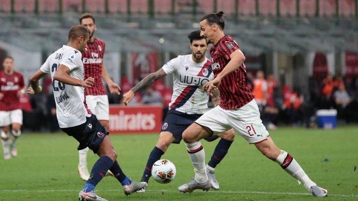 STREAMING AC Milan Vs Bologna Live di Jadwal Bola Malam Ini, Streaming RCTI | Matteo Gabbia Turun?