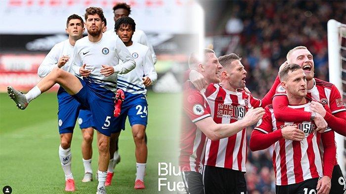 Streaming Chelsea Vs Sheffield United Liga Inggris, Peluang Chelsea Amankan Tiket Liga Champion