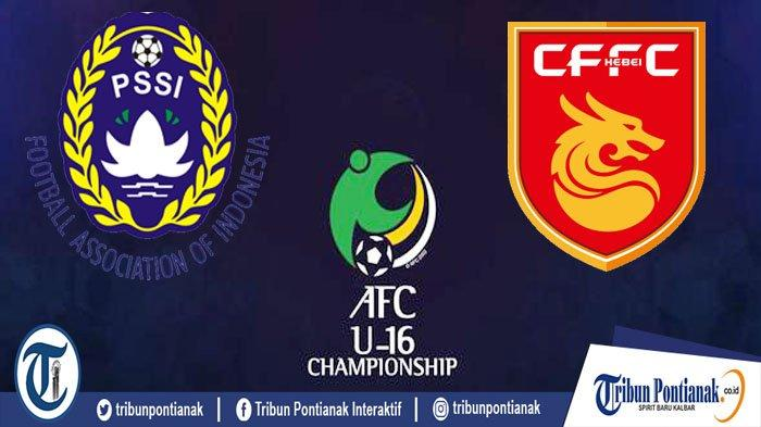 Sedang LIVE RCTI, Link LIVE Streaming Timnas Indonesia Vs China | Mola TV Kualifikasi Piala Asia U16