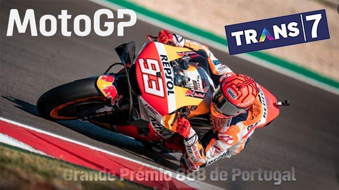 STREAMING Trans7 MotoGp Portugal 2021, Tonton Live Streaming Trans Tv Sekarang | Marc Marquez Juara?