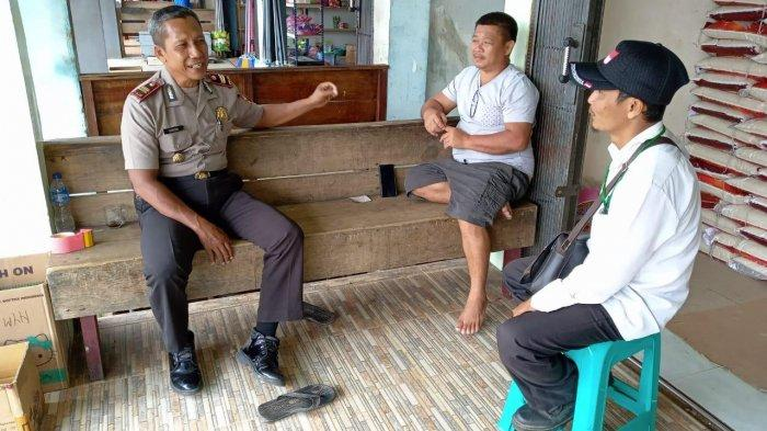Patroli Dialogis, Polsek Belitang Sampaikan Pesan Kamtibmas