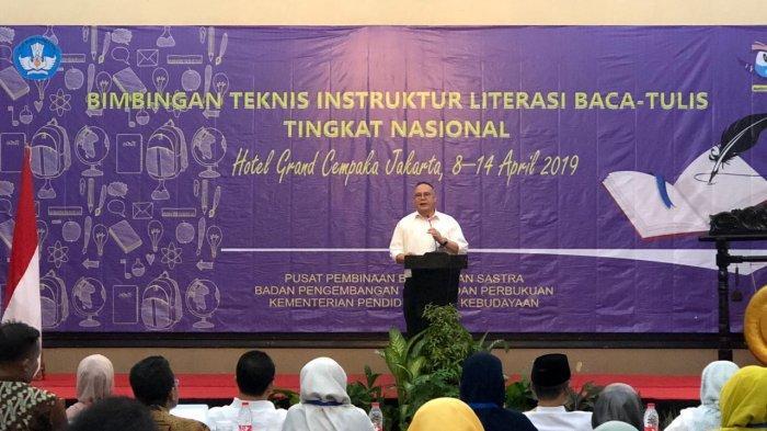 Tingkatkan Kemampuan Baca Tulis Siswa, Badan Bahasa dan Perbukuan Latih Instruktur Nasional