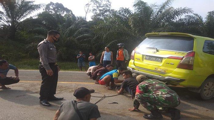 Kecelakaan Beruntun di Jalan Raya Batang Tarang, Ini Imbauan Kasat Lantas Polres Sanggau