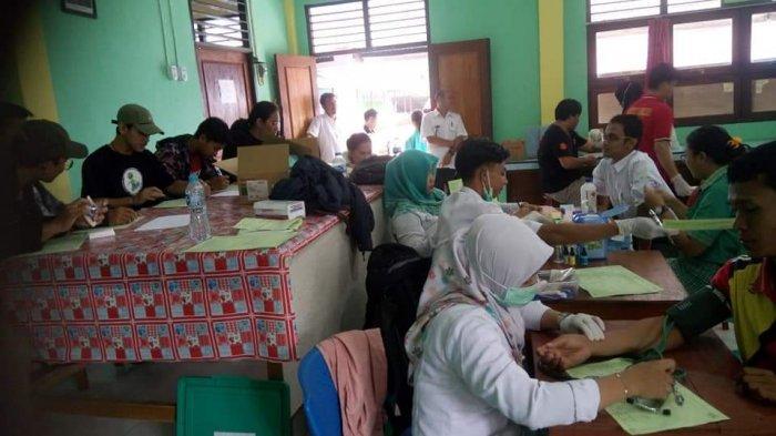 UTD PMI Sanggau Update Stok Darah, Apresiasi Donor Darah di SMA Karya Kasih Parindu