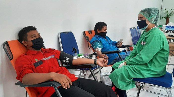 Peringati HDDS Tahun 2021, PMI Sanggau Gelar Donor Darah di PLTU Sungai Batu