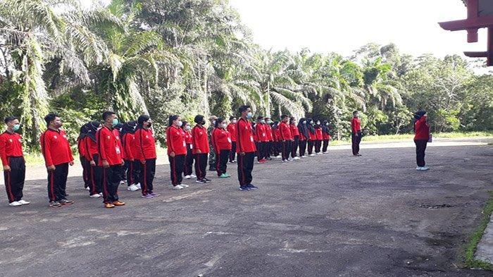 Peserta Latsar CPNS di Sanggau Mendapatkan Pelatihan Bela Negara