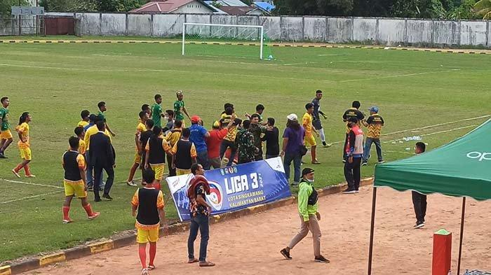 Laga Persiwah vs Delta Khatulistiwa di Liga 3 Ricuh, Imbau Pemain dan Official Junjung Fair Play