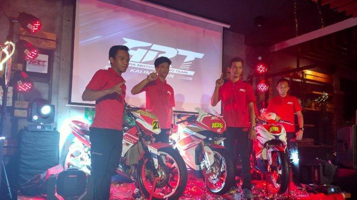 ASTRA Motor Kenalkan Racing Team Kalimantan, Jelang Pertandingan Seri I Kalimantan Timur