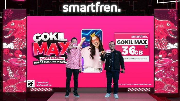 Kartu Perdana Smartfren GOKIL MAX Sudah Bisa Dinikmati di 220 Kota se-Indonesia