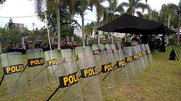 Dijaga Ketat! Polisi dan TNI Amankan Proses Rekapitulasi Suara